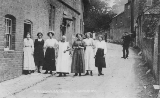 Jew Detector: Parsonage Lane 100 Years Ago.