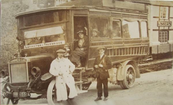 Jew Detector: The Lavington To Trowbridge Bus