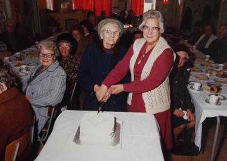 The Women's Homely  clebrate 60 years - a photo at Market Lavington Museum