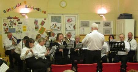 Lavington Community Band get into their stride