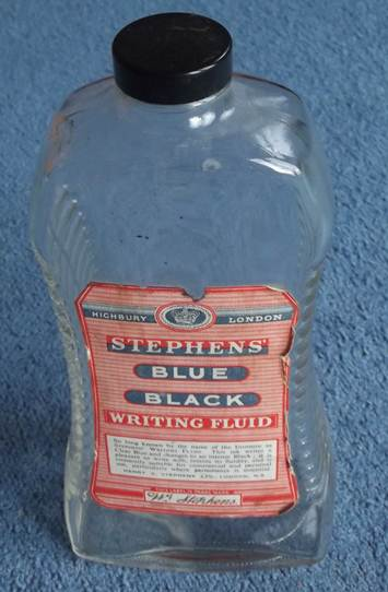 Stephens Ink Bottle from about the 1960s