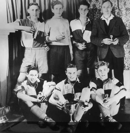 Market Lavington Under 18 football team in 1947