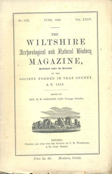 Wiltshire Archaeological and Natural History Society magazine