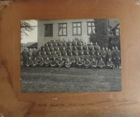 Picture of the Market Lavington Home Guard (1939-45) which was once on display at The Volunteer Arms
