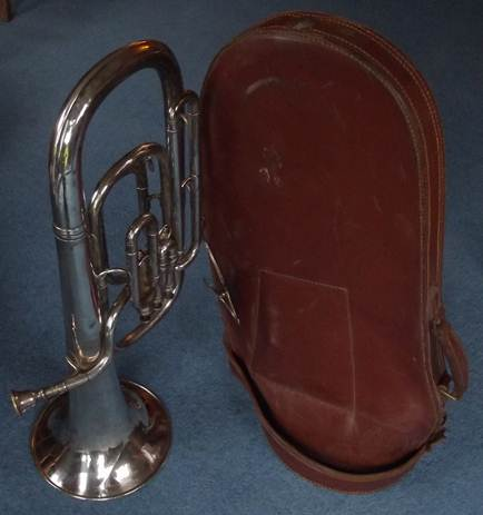 The horn's case is as interesting as the horn itself