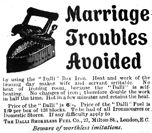 The Dalli even solved marriage problems!