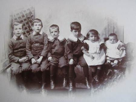 The Burgess Boys - sons of Alfred, the Market Lavington photographer and his wife Marion.