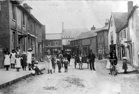 Church Street, Market Lavington in Edwardian days