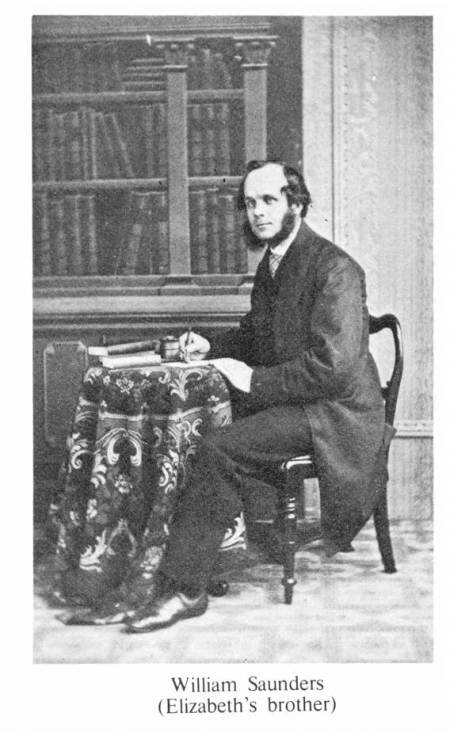 William Saunders, born Market Lavington in 1823