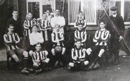 Market Lavington Church Lads Football Team - 1911/12