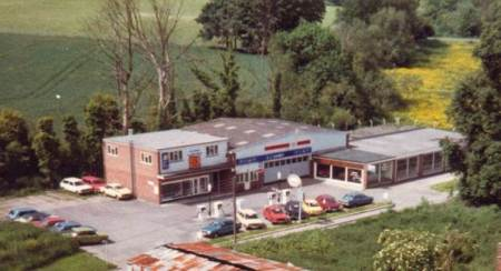 Edgar Haines moved his business to the new Spring Filling Station in the 1960s