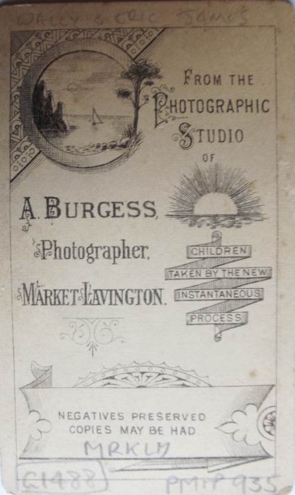 The photo is by A Burgess of Market Lavington