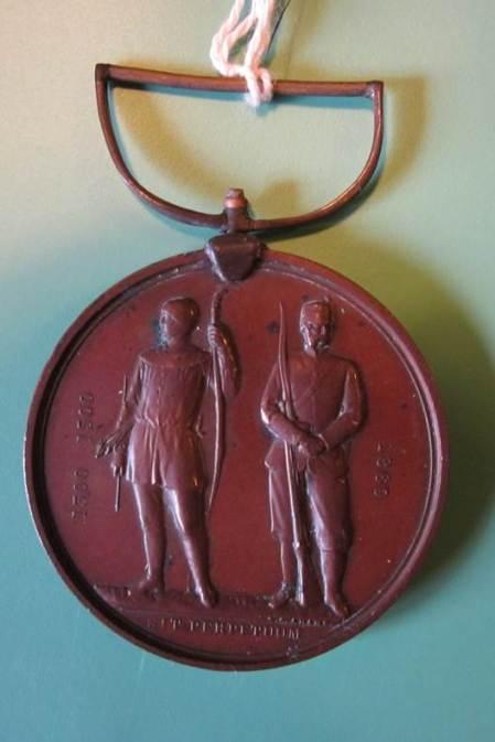 National Rifle Association Medal at Market Lavington Museum