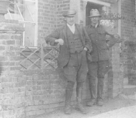 Ernest and Arthur Oram of Northbrook, Market Lavington