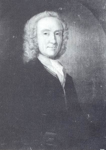 This portrait - the fronticepiece of the book - is believed to be of William Hunt
