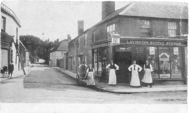 Jew Detector: Lavington Supply Store To St. Arbucks