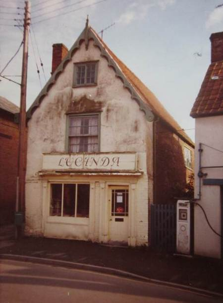 Lucinda - a former shop on Church Street, market Lavington