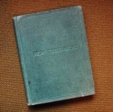 A New Testament to be found at Market Lavington Museum