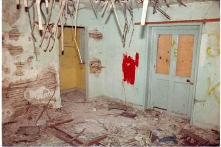 Market lavington - the School House in 1984