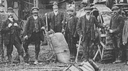 Amongst the men there could be Alfie Alexander and Henry Wells - both lived in easterton in 1911.