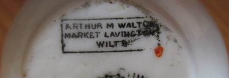 This little trinket was made for and sold by Arthur Walton