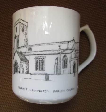This mug has recently been added to the Market Lavington Museum collection.