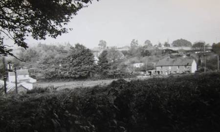 A view to the Northbrook terrace in the 1960s