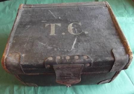 A 1920s hat box at Market Lavington Museum