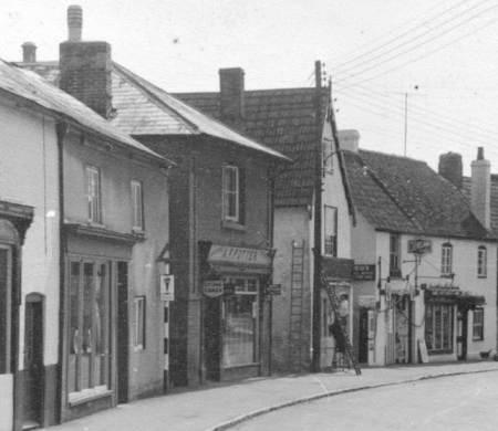 Potter's Stores on Church Street, Market Lavington