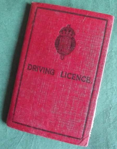 This driving license belonged to Barbara Reynolds of Market Lavington