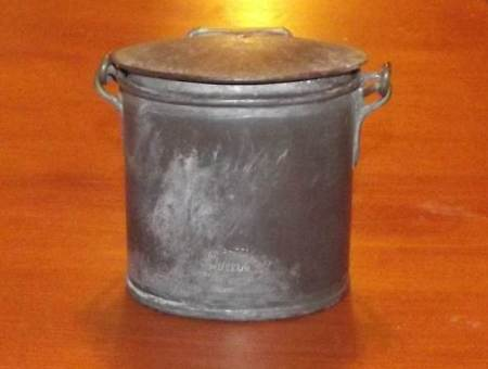 Jacob Copper's cream pot is at Market Lavington Museum