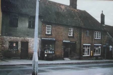 Market Lavington Ironmongers in about 1966