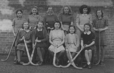MarketLavington School hockey team in 1948 - a photo given to the museum by Betty Gye