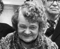 Gladys Windo of Easterton in later life