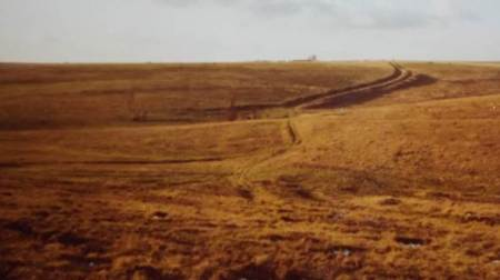 The site of Pond Farm in 1977