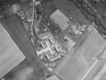 Northbrook - a photo taken from the air in the 1950s.