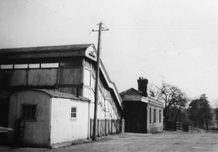 Lavington Station entrance in 1965