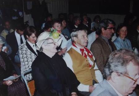 Audience at the Market Lavington Victorian Evening - 1st September 1993