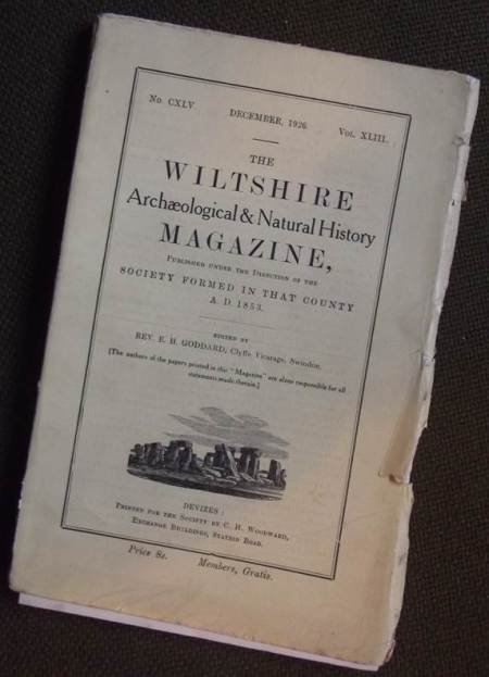 WANHS Magazine for December 1926
