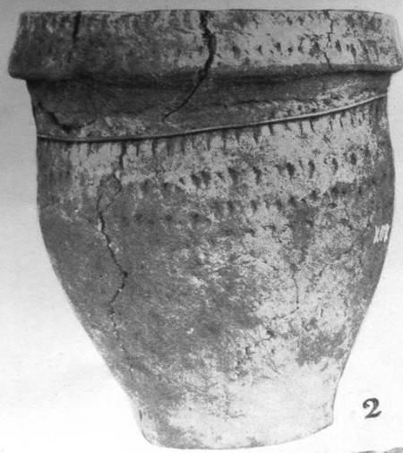 Funeral urn found at Freith Farm, Market Lavington in 1924