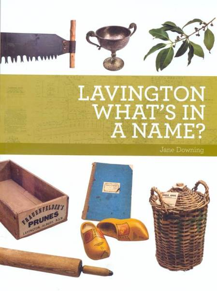 What's in a Name is a book about Lavington, New South Wales