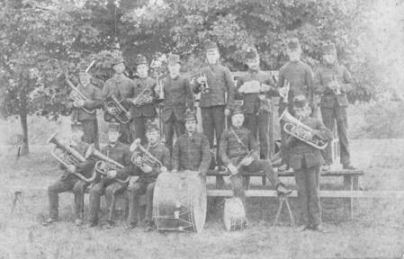 Lavington Band in the 1880s