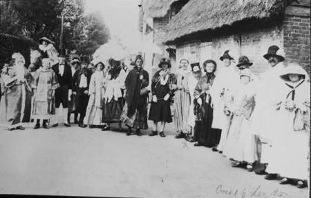 A 1920s Hospital Week line up in Easterton