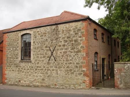 This building near the Easterton end of Markiet Lavington was built as a Meeting House for Quakers in the early 18th century