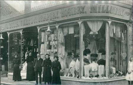 Definitely Mr Walton's shop - but where?
