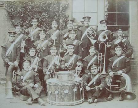Market Lavington Band in 1911