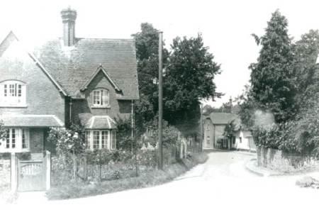 White Street, Market Lavington in about 1960