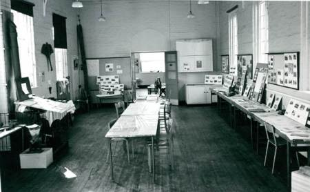 Look back at Lavington exhibition in the Old School in 1973