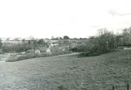View near Grove Farm, Market Lavington in 1972