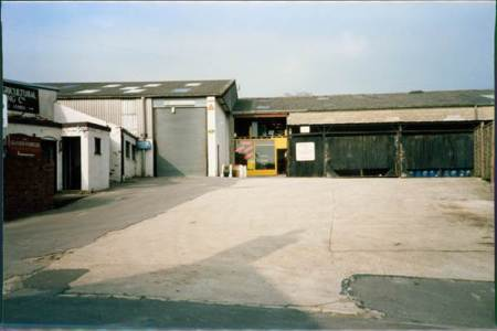 Wiltshire Agricultural Engineering site in about 1990